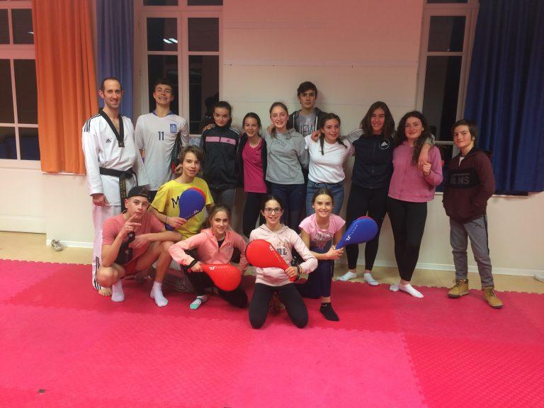 Activité Taekwondo au club ados