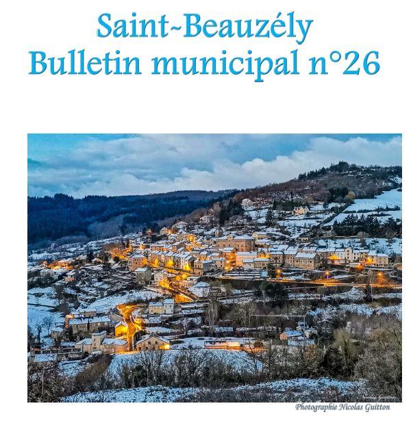 Bulletin Saint-Beauzély 2020